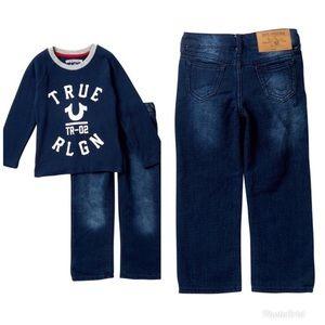 True Religion Varsity Long Sleeve & Pants Set